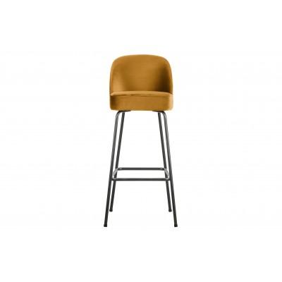 Baro kėdė Vogue, 80 cm, velvetas (garstyčių)