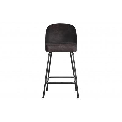 Baro kėdė Vogue, 65 cm, odinė (juoda)