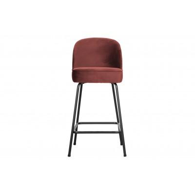 Baro kėdė Vogue, 65cm, velvetas (kaštoninė)