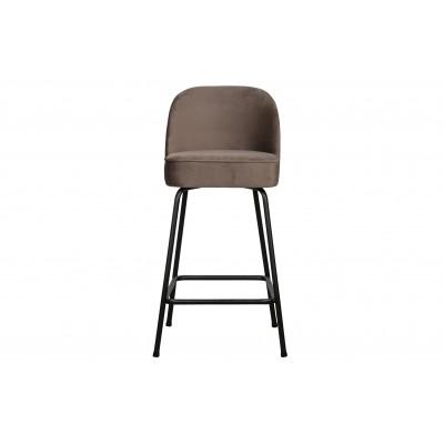 Baro kėdė Vogue, 65 cm, velvetas (pilkšvai ruda)