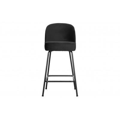 Baro kėdė Vogue, 65cm, velvetas (juoda)
