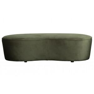 Maža sofa Macaroni, 165 cm, velvetas (onikso)