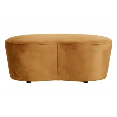 Maža sofa Macaroni, 110 cm, velvetas (garstyčių)