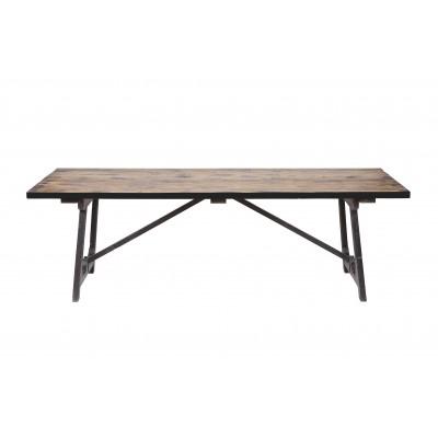 Valgomojo stalas Craft (juoda), 190x90 cm