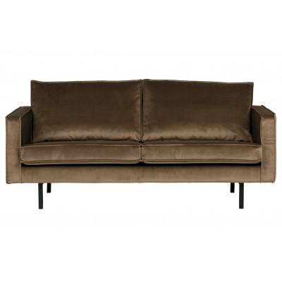 Sofa Rodeo, 2.5 vietų, velvetas (šilta rusvai pilka)