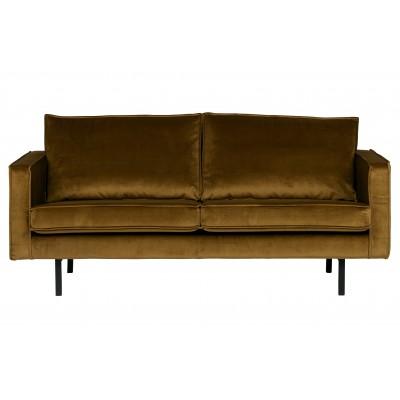 Sofa Rodeo, 2.5 vietų, velvetas (medaus geltona)