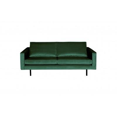 2.5 vietų sofa Rodeo, velvetas (miško žalia)