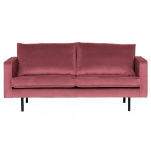 2.5 vietų sofa Rodeo, velvetas (rožinė)