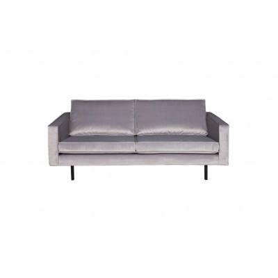 Sofa Rodeo, 2.5 vietų, velvetas (šviesiai pilka)