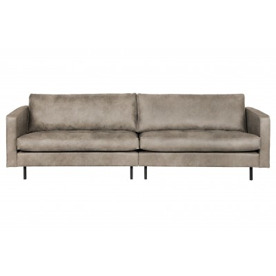 Klasikinė trivietė sofa Rodeo (dramblio odos)