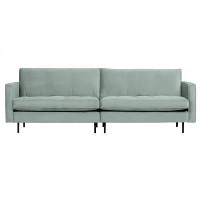 Klasikinė trivietė sofa Rodeo, velvetas (mėtų)