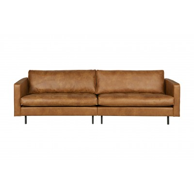 Klasikinė trivietė sofa Rodeo (konjako)