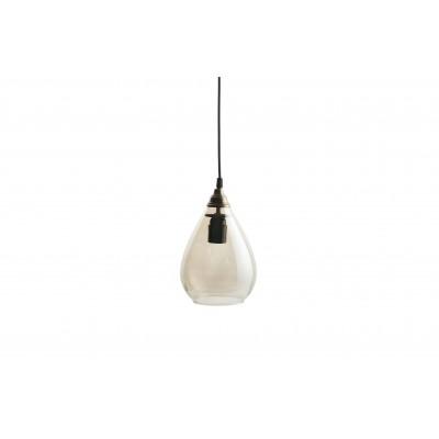 Pakabinamas šviestuvas Simple, didelis (sendinto žalvario)