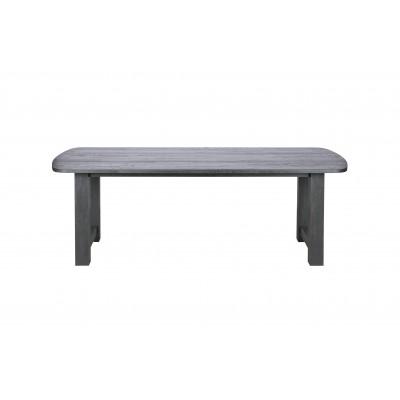 Valgomojo stalas Identity, 220x90 cm, ąžuolas (juoda)