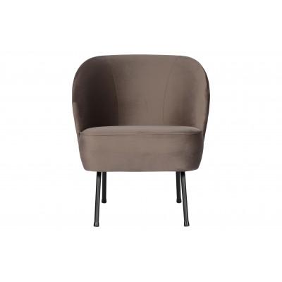 Fotelis Vogue, velvetas (pilkšvai ruda)