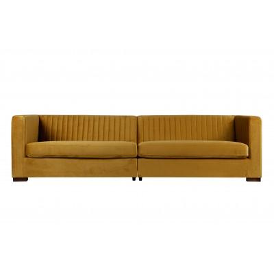 Sofa Nouveau XL, velvetas (garstyčių)