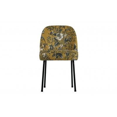 Valgomojo kėdė Vogue, velvetas (garstyčių su aguonų raštu), 2 vnt.