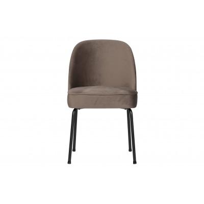 Valgomojo kėdė Vogue, velvetas (pilkšvai ruda), 2 vnt.
