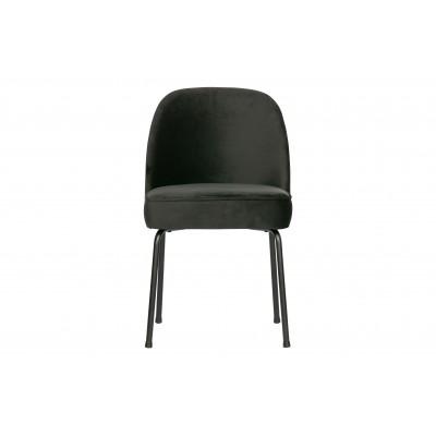 Valgomojo kėdė Vogue, velvetas (juoda), 2 vnt.