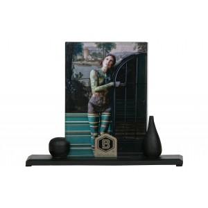 Medinis nuotraukų rėmelis Beloved Too, 20x24 cm, didelis (juoda), 2 vnt.