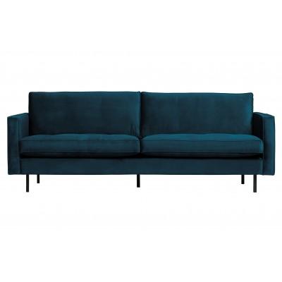 Klasikinė 2.5 vietų sofa Rodeo, velvetas (mėlyna)
