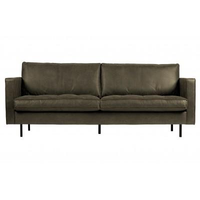 Klasikinė 2.5 vietų sofa Rodeo (rusvai žalsva)