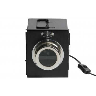 Stalinis šviestuvas Projector, metalas (juoda)