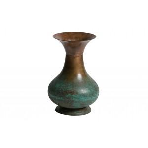 Metalinė vaza Grail (sendinto vario spalvos)