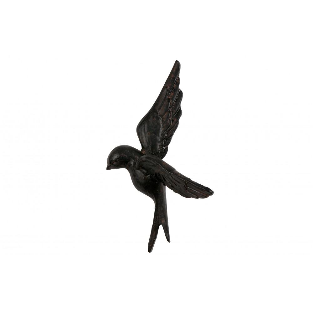4 paukščiukai Avaler, kaučiukas (juoda)