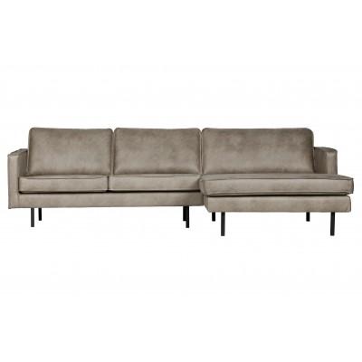 Kampinė sofa Rodeo, dešininė (dramblio odos spalvos)