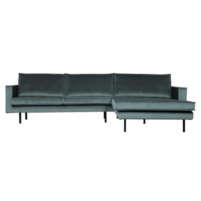 Kampinė sofa Rodeo, dešininė (žalsvai mėlyna)