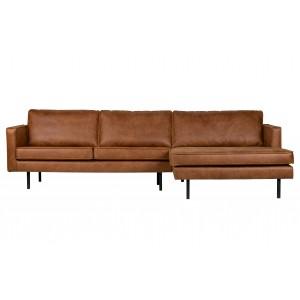Kampinė sofa Rodeo, dešininė, velvetas (kaštoninė)