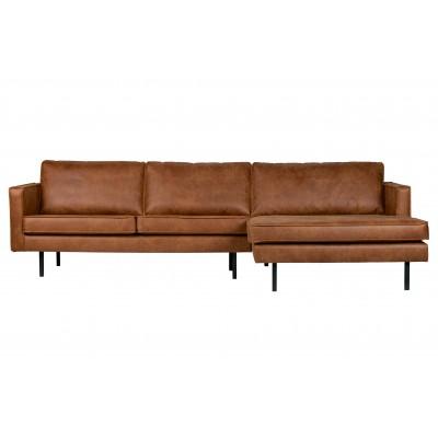 Kampinė sofa Rodeo, dešininė (konjako)