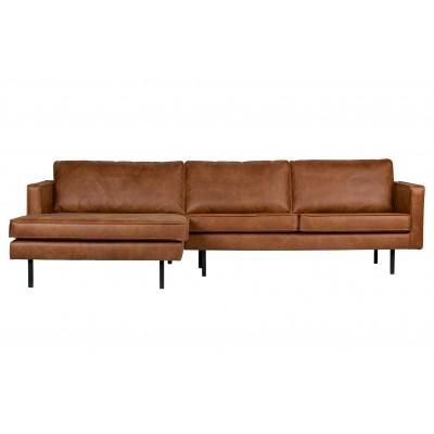Kampinė sofa Rodeo, kairinė (konjako)