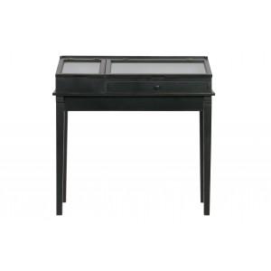 Medinis šoninis staliukas Herritage (juoda)