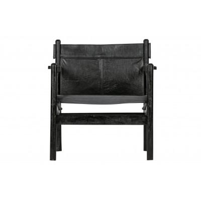 Fotelis Chill, odinis (juoda)
