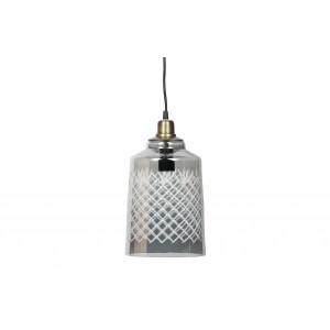 Didelis pakabinamas šviestuvas Engrave (pilka)