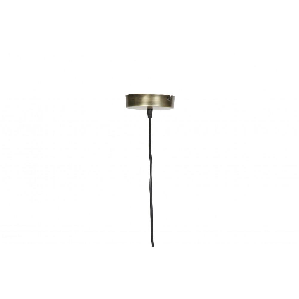 Mažas pakabinamas šviestuvas Engrave (sendinto žalvario)