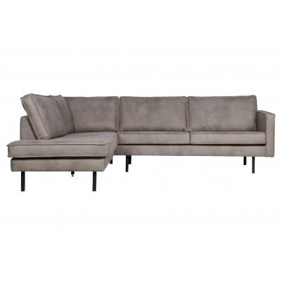 Kampinė sofa Rodeo, kairinė (dramblio odos)