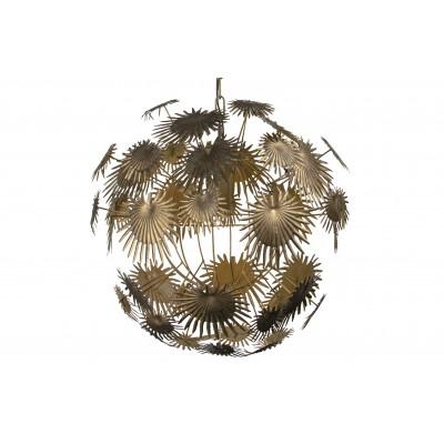 Pakabinamas šviestuvas Atom, metalas (sendinto žalvario)
