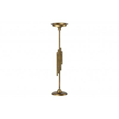 Žvakidė Luminary, 52 cm, metalas (sendinto žalvario spalvos)