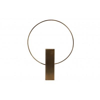 Vaza Ring, 40cm, metalas (sendinto žalvario), 2 vnt.