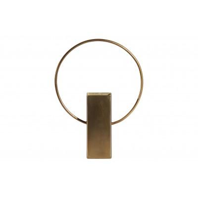 Vaza Ring, 25cm, metalas (sendinto žalvario), 2 vnt.