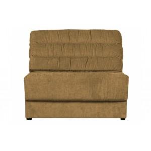 Vienvietė sofa Element Vintage (aukso)