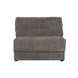 Vienvietė sofa Date Element, kordinis velvetas (akmens)