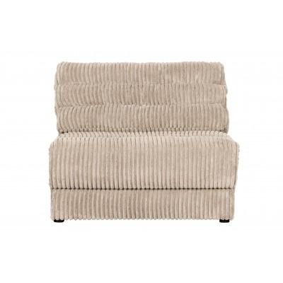 Vienvietė sofa Date Element, kordinis velvetas (natūrali)