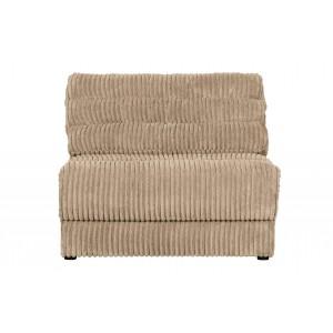 Vienvietė sofa Date Element, kordinis velvetas (kreminė)