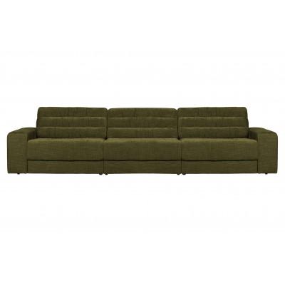 Trivietė sofa Vintage (žalia)