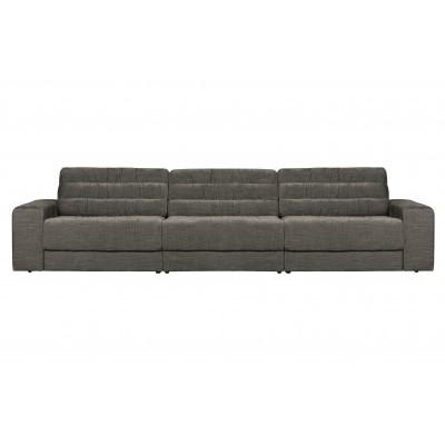 Trivietė sofa Vintage (pilka)