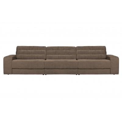 Trivietė sofa Vintage (šiltai pilka)